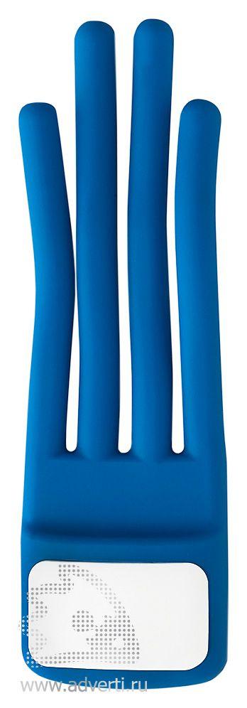 Подставка «Eddy» для телефона, синяя