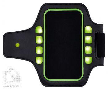 Спортивный чехол для телефона с LED подсветкой на руку