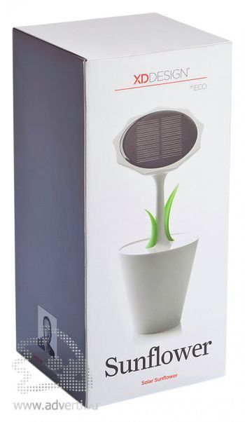 Зарядное устройство «Sunflower »на солнечной батарее, 2500 mAh, упаковка