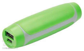 Зарядное устройство, 2200 mAh, зеленое