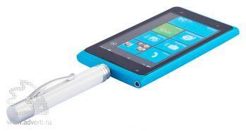 Ручка-стилус с зарядным устройством 3 в1, 1650 mAh, применение