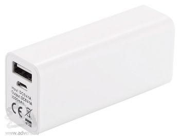 Зарядное устройство с аккумулятором «Samsung», 3000 mAh, USB разъемы