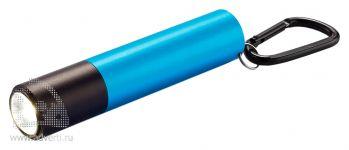 Зарядное устройство с фонариком, 2200 mAh, синее