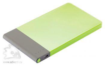 Тонкое зарядное устройство, 4600 mAh, зеленое