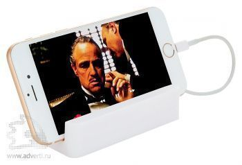 Зарядное устройство с подставкой для телефона, 2200 mAh, применение