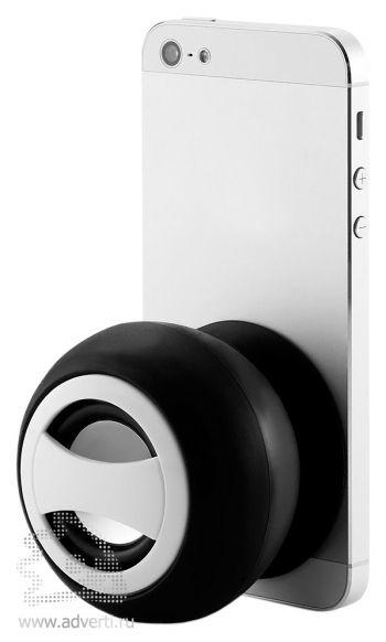 Bluetooth-колонка на присоске мощностью 2W с аккумулятором емкостью 300 mAh