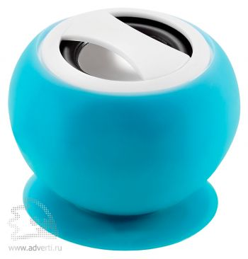Bluetooth-колонка на присоске, синяя