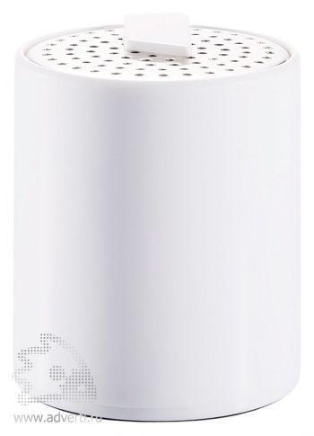 Портативная аудио-колонка для телефона, белая