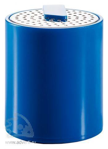 Портативная аудио-колонка для телефона, синяя