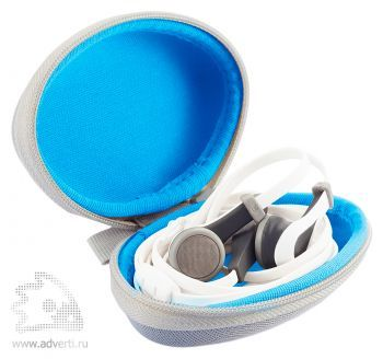 Наушники-капельки «Oova» с микрофоном, бокс для хранения