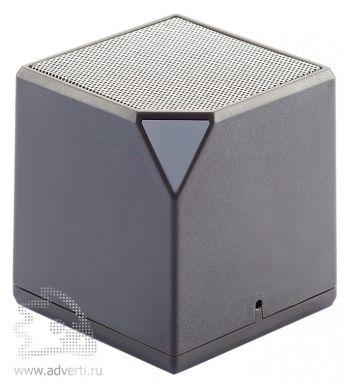 Беспроводная колонка «Cube», серая