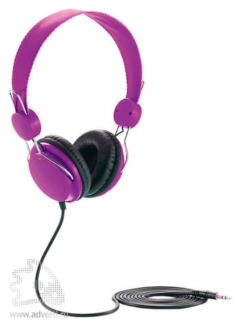 Наушники, фиолетовые