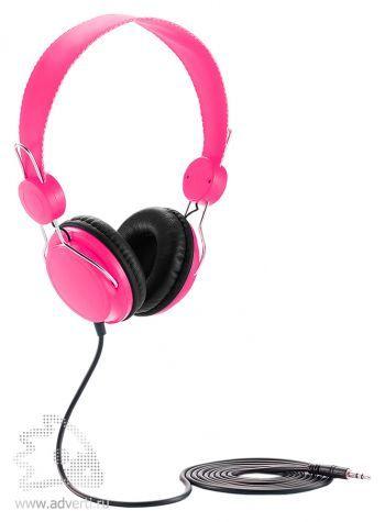 Наушники «Candy», розовые