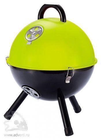Гриль для барбекю, светло-зеленый