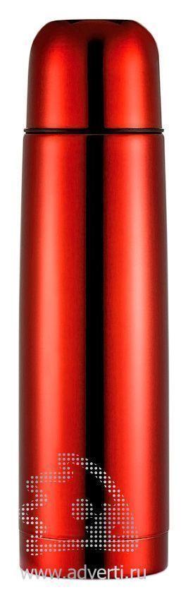 Термос из нержавеющей стали, красный