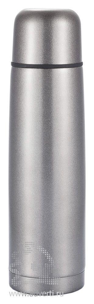 Термос из нержавеющей стали, серый