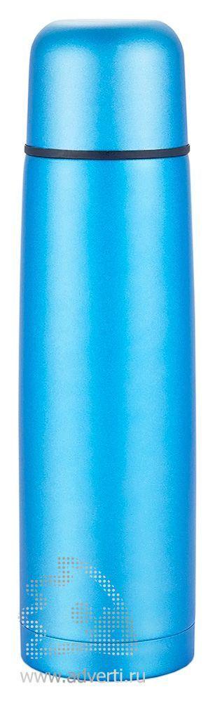Термос из нержавеющей стали, синий