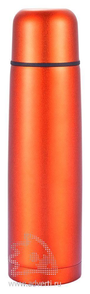 Термос из нержавеющей стали, оранжевый