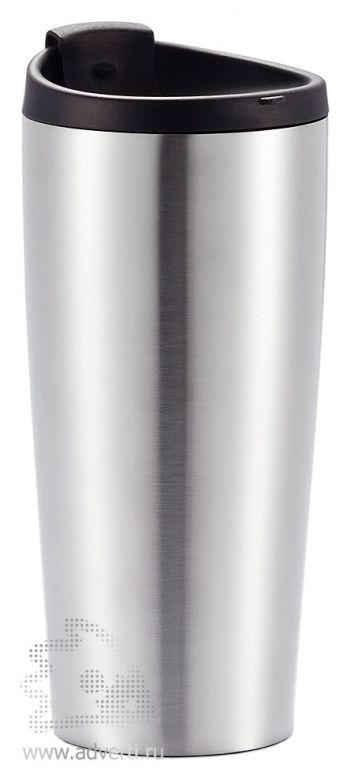 Термокружка «Vacuum», серебристая