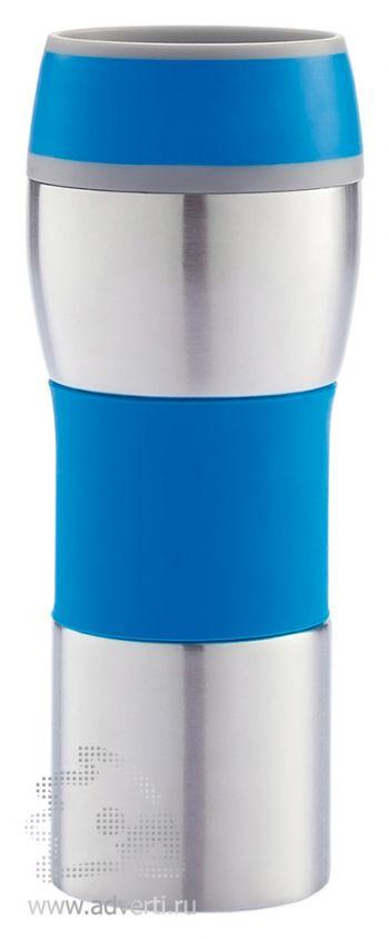 Термокружка, синяя