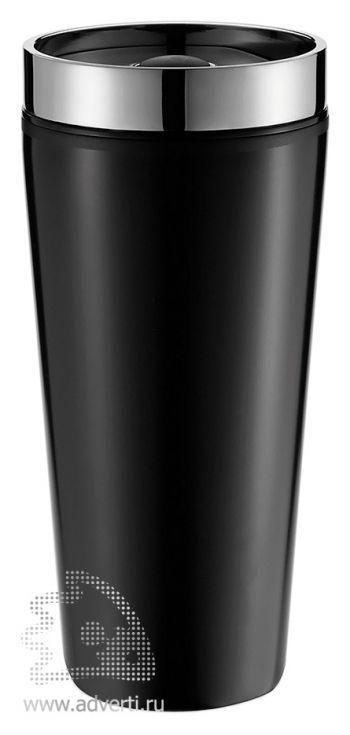 Герметичная термокружка, черная
