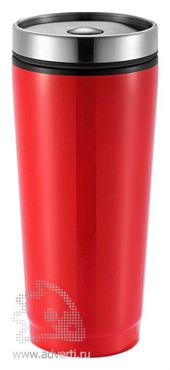 Герметичная термокружка, красная