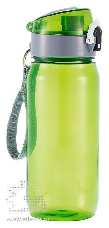 Бутылка для воды «Tritan», зеленая