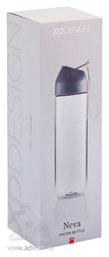 Бутылка для воды «Neva», упаковка