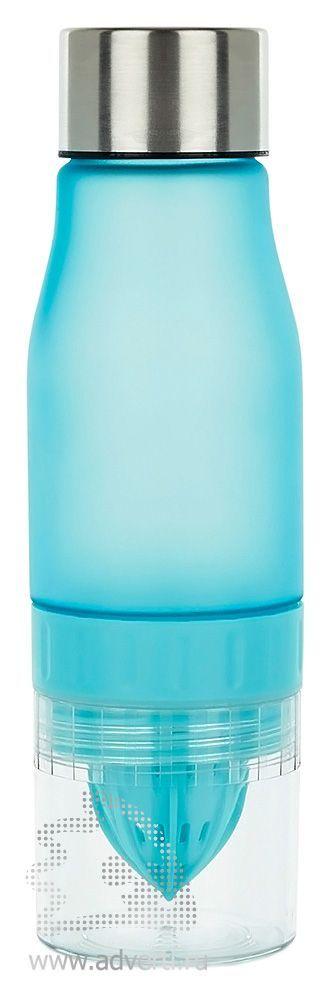 Бутылка для воды «Lemon», голубая