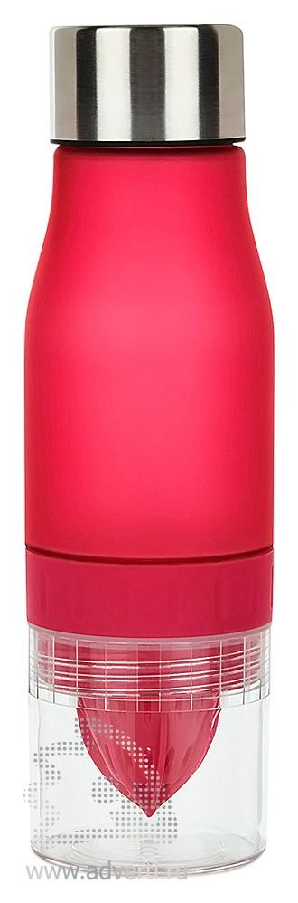 Бутылка для воды «Lemon», красная