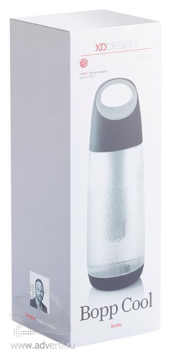 Бутылка для воды «Bopp Cool», упаковка