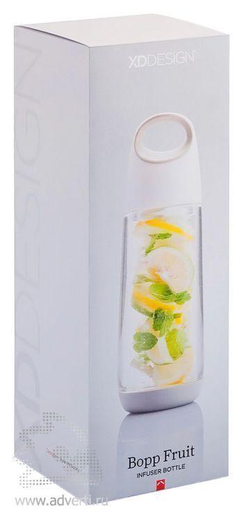 Бутылка для воды «Bopp Fruit», упаковка