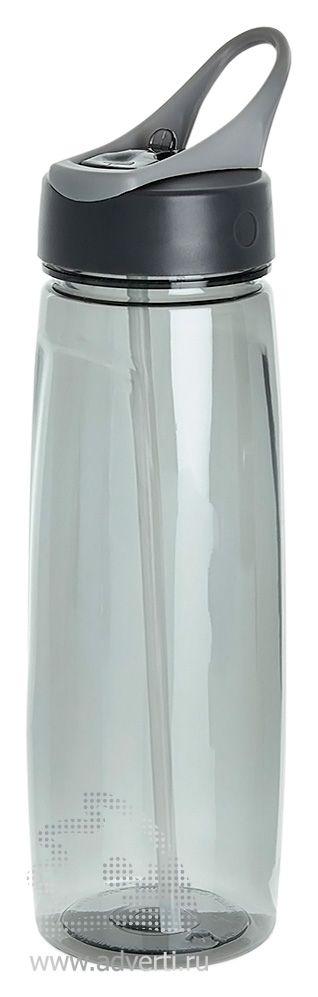 Спортивная бутылка «Tritan», серая