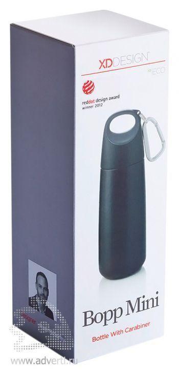 Бутылка для воды с карабином « Bopp Mini», упаковка