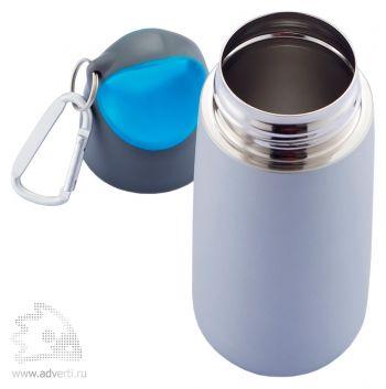 Бутылка для воды с карабином « Bopp Mini», открытая