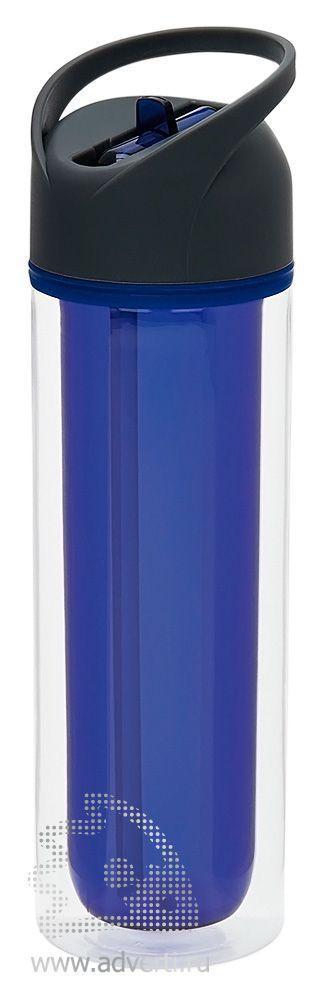 Бутылка для воды «Tritan» с двойными стенками, синяя