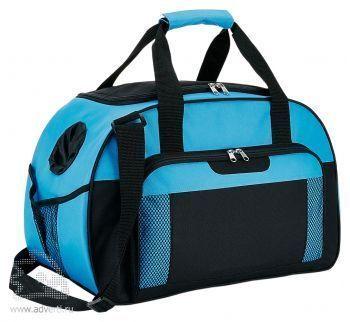 Дорожная сумка «Supreme», голубая