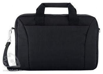 """Сумка для ноутбука 15"""", черная"""