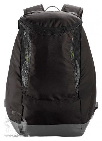 Спортивный рюкзак с отделением для обуви, черный