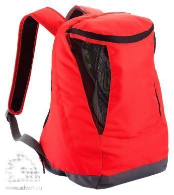Спортивный рюкзак с отделением для обуви, вид сбоку