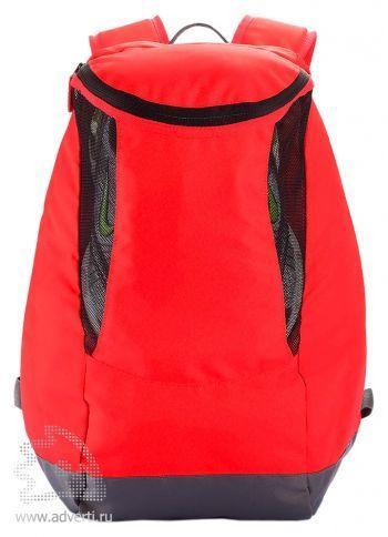 Спортивный рюкзак с отделением для обуви, красный