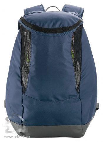 Спортивный рюкзак с отделением для обуви, синий