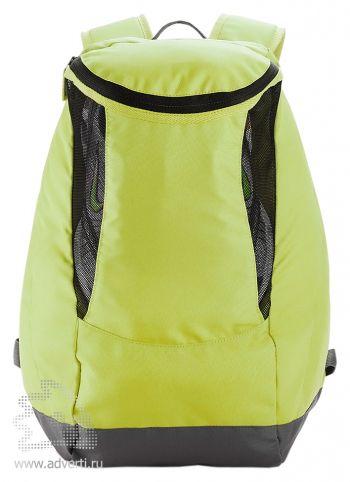Спортивный рюкзак с отделением для обуви, светло-зеленый