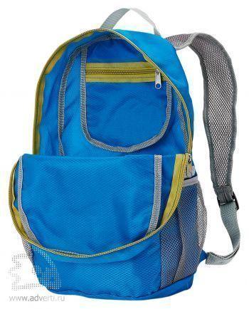 Ультралегкий складной рюкзак, открытый