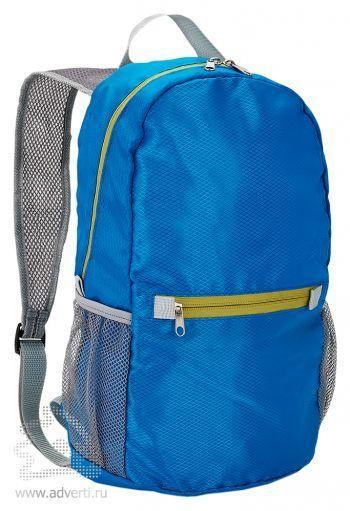 Ультралегкий складной рюкзак, голубой