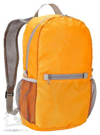 Ультралегкий складной рюкзак, оранжевый