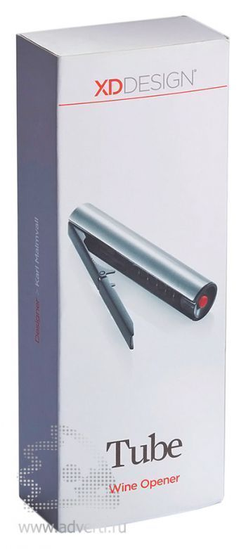 Винный штопор «Tube», упаковка