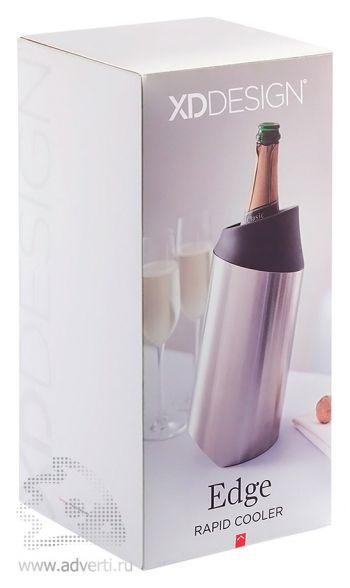 Кулер для бутылки вина «Edge», упаковка