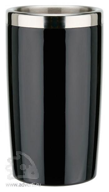 Кулер для бутылки вина, черный