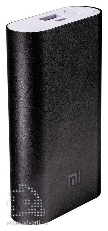 Универсальное зарядное устройство «Five Metal Colors» на 10400 mah, черное